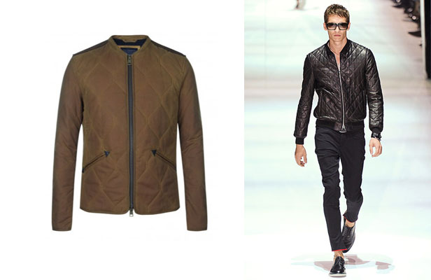 All Saints Jacket & Catwalk Look
