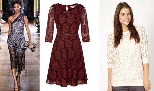 Lace trend SS14