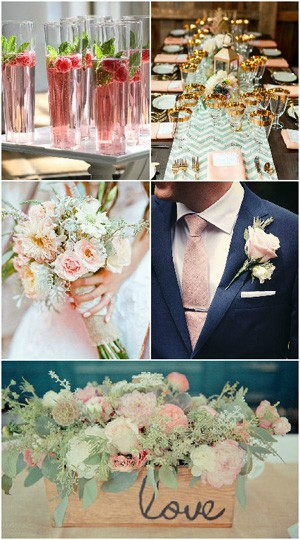 Pastel Hues for wedding