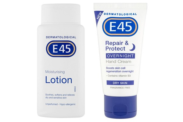 E45 skincare products giveaway