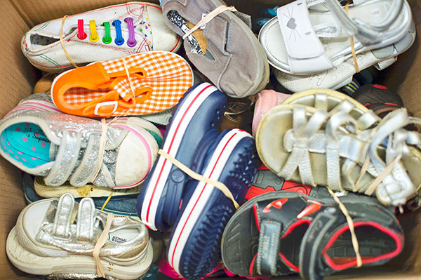 Sals Shoes Pre-Loved shoe donations