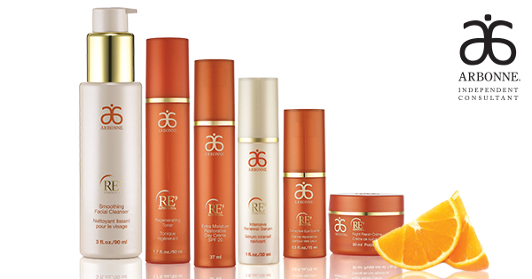 Arbonne RE9 Anti-Ageing Skincare system
