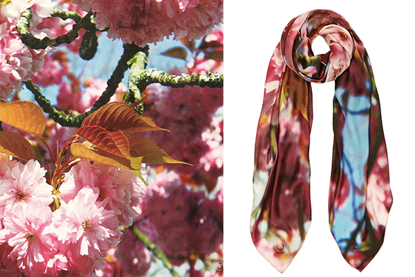 Combining her love of photography with design and silk fabrics, Celia Gould has created a stunning range of luxury fine silk scarves, perfect for a fashionista with a love for travel, art and style